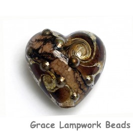 11814005 - Dark Amethyst w/Silver Foil Heart