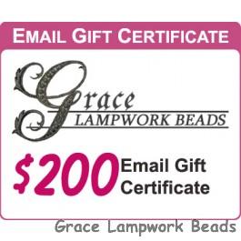 Gracebeads.com $200 Gift Certificate