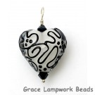 HP-11813105 - Black & White Heart Pendant
