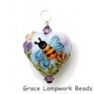 HP-11830205 - Bumble Bee Dreams Heart Pendant