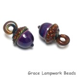 11821619 - Gala Grape Acorn Earring Set