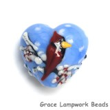 11833205 - Winter Red Cardinal Heart