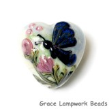 11835005 - Blue Sparkle Garden Butterfly Heart