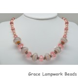 LC-Carly Noel Necklace with Whispering Peach Boro Beads