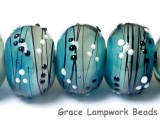 10412521 - Six Windjammer Party Rondelle Beads