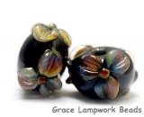 10204301 - Seven Floral Whisper Rondelle Beads