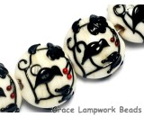 10204912 - Four Tranquility Vines Opaque Lentil Beads