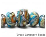 Grace Lampwork Beads Artisan Handmade Glass beads