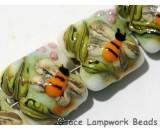 11007314 - Four Bumble Bee Garden Pillow Beads