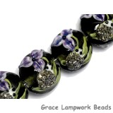 10508612 - Four Iris and Critter Lentil Beads