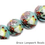 10508712 - Four Happy Frog Lentil Beads