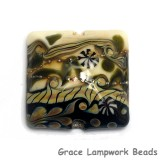 11807504 - Green Japanese Kimono Pillow Focal Bead