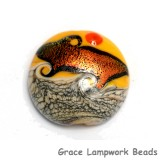 11833802 - Summer Sunset Waves Lentil Focal Bead