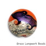 11833902 - Magic Moment Waves Lentil Focal Bead