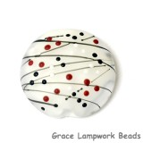11835602 - Casino Party Lentil Focal Bead