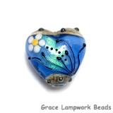 11838405 - Arctic Blue Florals Heart