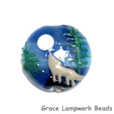 11839002 - Howling at the Moon Lentil Focal Bead