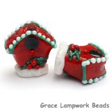 Birdhouse Focal Bead