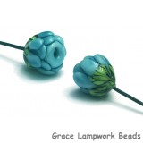 GHP-06: Powder Blue Floral Headpin