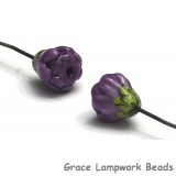 GHP-09: Violet Purple Floral Headpin
