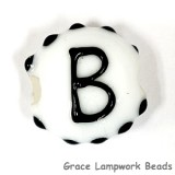 LTR-B: Letter B Single Bead