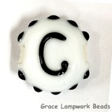 LTR-C: Letter C Single Bead
