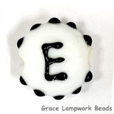 LTR-E: Letter E Single Bead