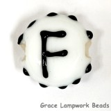 LTR-F: Letter F Single Bead