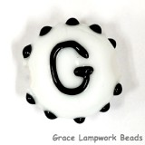 LTR-G: Letter G Single Bead