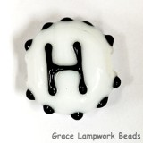 LTR-H: Letter H Single Bead
