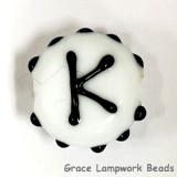 LTR-K: Letter K Single Bead