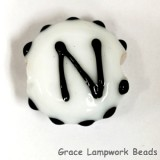 LTR-N: Letter N Single Bead