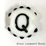 LTR-Q: Letter Q Single Bead