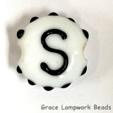 LTR-S: Letter S Single Bead