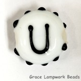 LTR-U: Letter U Single Bead