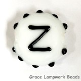 LTR-Z: Letter Z Single Bead
