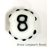 NBR-8: Number 8 Single Bead