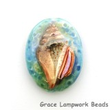 PM071824 - 18x24mm Porcelain Puffed Oval Shell