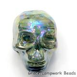 Skull08 - Juniper Luster Focal Bead