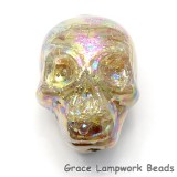 Skull12 - Starlight Luster Focal Bead