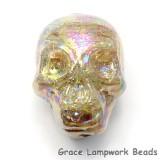 Skull12 - Starlight Luster Focal Bead
