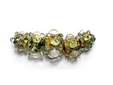 AB00611 - Copper River Boro Graduated Rondelle Beads