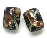 10902303 - Six Cheyenne Rock Mini Kalera Beads