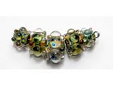 AB00211 - Florida Mango Boro Graduated Rondelle Beads