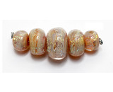 AB01111 - Whispering Peach Boro Graduated Rondelle Beads