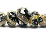 10902311 - Five Graduated Cheyenne Rock Beads