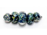 AB01211 - Planetarium Graduated Boro Beads