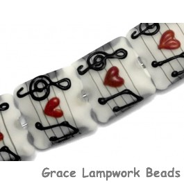 10205614 - Four Musical Love Notes Pillow Beads