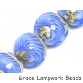 10413712 - Four Arctic Wave Lentil Beads