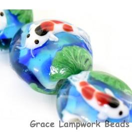 Koi Fish Glass Beads